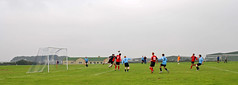 RNAS Culdrose v Camborne Park, Falmouth-Helston League Division 2, August 2008 (darren.luke) Tags: cornwall cornish football landscape nonleague grassroots rnas culdrose fc camborne