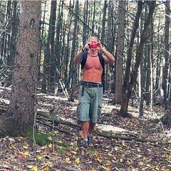 Bushwhacking the Plotterkill Preserve on an unbelievably warm 85 degree October 16th.  If there was water in the stream I would have jumped in.           #hike #naturesgym #nature #plotterkill #abs #outdoors #hiking #asdf88 #iheartnewyork #newyork #bushwh (malcolmpk88) Tags: instagramapp square squareformat iphoneography uploaded:by=instagram hike naturesgym nature plotterkill abs outdoors hiking asdf88 iheartnewyork newyork bushwhacking body upstateny muscle iloveny mountains getoutside 518 518fam 518strong scenicny shirtless shirtlessguy shirtlesssunday malcolmkogut kogut