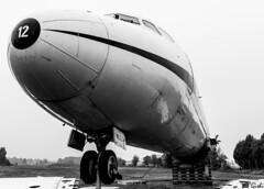 DC-9 (Gi_shi) Tags: case nuove somma lombardo varese lombardia italia italy nikon iamnikon nikonitalia d7200 volandia museo museum dc9 bn bnw bw biancoenero