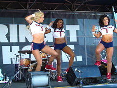 IMG_6004 (grooverman) Tags: houston texans cheerleaders nfl football game nrg stadium texas 2016 budweiser plaza nice sexy legs stomach canon powershot sx530