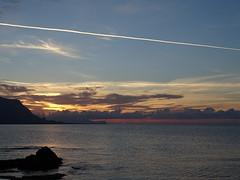 Pr do sol (RoBeRtO!!!) Tags: rdpic sunset light blue orange sky clouds sea water luce tramonto cielo azzurro arancio nuvole acqua mare isoladellefemmine sicily sonyhx400v
