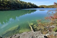 Pink Lake (Roger Daigle) Tags: pink lake autumn gatineau quebec nikon