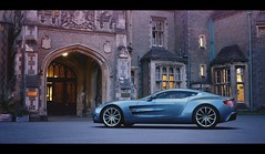 Aston Martin One-77 (Thomas_982) Tags: car gt5 gt6 aston martin one77 british uk ps3 gran turismo house outdoor city gt sport