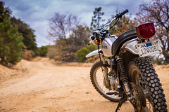 XL250 (Shutter Theory) Tags: xl250 honda motorcycle classic vintage dualsport enduro getoutandride angelesnationalforest lakehughes maxwell road fireroad dirtroadadventures dirt forest losangelescounty