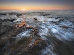 Uprise (james_lovas) Tags: seascape rocks sunrise australia queensland waves longexposure leefilter movement sony a7r ii wideangle landscape nature water