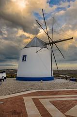 Wind Mill 1579 (_Rjc9666_) Tags: algarve arquitectura castromarim colors nikond5100 portugal sky tokina1224dx2 urbanphotography windmill ruijorge9666 weather clouds