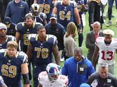 P1060268 (Commander Idham) Tags: national football league nfl international series los angeles la rams new york ny giants twickenham stadium 23 october 2016 odell beckham junior jr wide receiver