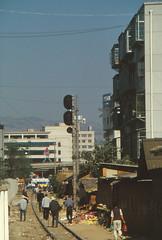 China - Yunnan - Kunming Shizui branch (railasia) Tags: china yunnan kunming shuizibranch cnr metergauge infra signal alignment manrail 2001