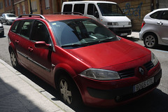 Renault Megane (Jusotil_1943) Tags: 20062016 coches autos cars redcars