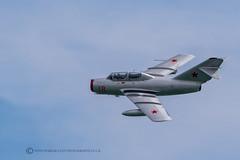 MiG 15 - FAGOT (mark_rutley) Tags: aircraft airshow aviation eastbourne jet mig mig15 easternblock fagot sea
