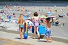 Kids Heading To The Beach (Joe Shlabotnik) Tags: 2016 higginsbeach boogieboard violet maine helent july2016 everett beach afsdxvrnikkor55300mm4556ged