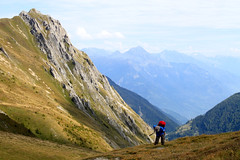 Haute Route - 6 (Claudia C. Graf) Tags: switzerland hauteroute walkershauteroute mountains hiking