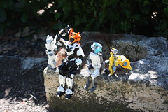 The journey begins (Loysnuva) Tags: lego moc ccbs technic system photo trip bionifigs