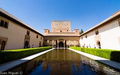 Patio de los Arrayanes (Juan Miguel) Tags: alhambra espaa europa europe granada juanmiguel palaciosnazares sonyalpha65 spagne spain spanien tokina1116 architecture arquitectura