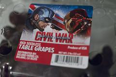 Grape Wars? (robert_rex_jackson) Tags: captainamerica ironman civilwar grapes