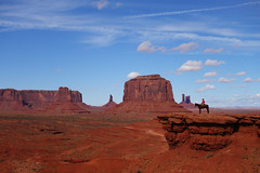 John Ford's Point, Monument Valley (Cagsawa) Tags: johnford johnfordspoint monumentvalley monument mitten butte desolate arid desert cliff plateau rock rockformation mountain horse cowboy utah navajo navajotribalpark rx100 valleydrive summit rider landscape sky western
