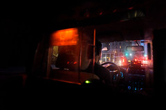 New York Lights (juliekrugerart) Tags: trail girl julie kruger photography new york manhattan motion hustle bustle nikon d810 metropolitan museum brooklyn bridge grand central station taxis world trade center subway