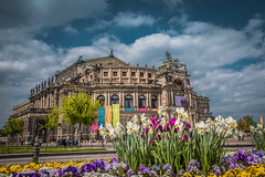Opera House - Dresden Germany (Stratos28) Tags: dresden germant opera house semperoper germany nikon d750 tamron 2470mm travelphotography architecture