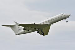 C-20 at Leeuwarden (Spaak) Tags: c20 gulfstream usaf united states air force airplane aircraft jet vliegtuig show leeuwarden 20375 luchtmachtdagen 2016