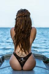 Tracy Juarez (Ximo Torres) Tags: model belleza lenceria albufera barca