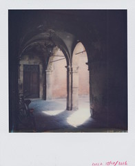 (samuel.blenkin) Tags: polaroid px70 impossible project sx70 3rd gen light archway pools italy lucca