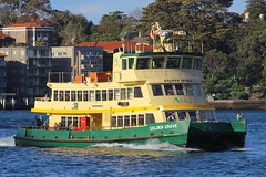 Golden Grove, Circular Quay, Sydney, September 10th 2014 (Suburban_Jogger) Tags: goldengrove firstfleetclass sydneyferries ferry boat ship sydneyharbour circularquay sydney newsouthwales australia september 2014 spring canon 60d sigma 70200mm wharf public transport passenger travel