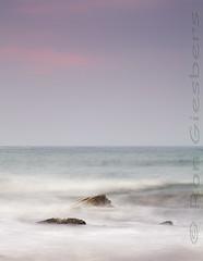 Rocky Bay '16 (Ron Giesbers) Tags: cork coast sea rocks water pastel waves seascape pink sky ireland dutchman leefilters 3stop 3stopsoftgrad