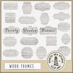 Wood frames clipart (northseastudio) Tags: borders clipart etsy frames tags