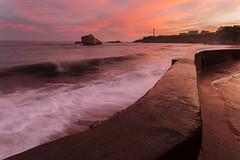 Biarritz s'veille (JMS') Tags: paysage ocan biarritz basque paysbasque eau phare vague ciel nature landscape seascape sky lighthouse leefilters lee gnd soleillevant canon canoneos5dmarkiii