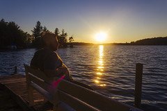 A place to think (Ismail Atiev) Tags: rons cottage ontario back country camping camp fire relax summer nice nature