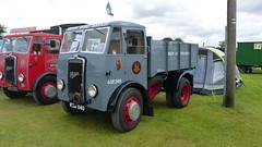 1950 Foden Tipper - BRS British Road Services Reg: MAU 840 (bertie's world) Tags: lincolnshire steam rally 2016 lincoln showground 1950 foden tipper brs british road services reg mau840