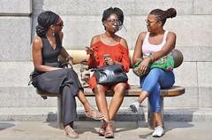 All The Single Ladies  [Explored # 459] (jaykay72) Tags: london uk street candid streetphotography londonist trafalgarsquare stphotographia