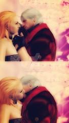 i_will_fill_your_dark_soul_with_light_by_dantedevilknight-dafebal (Dante x Trish) Tags: devilmaycry relationship pairing クライ メイ デビル ダンテ トリッシュ people manga japan anime dmc dante trish devil may cry game dmc4 love hug デビルメイクライ capcom videogame fantasy video games gaming cherry blossom