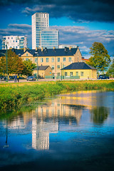 Reflection (Maria Eklind) Tags: mpln himmel europe malm sweden sky reflection arkitektur malmlive spegling architecture poutdoor buildings clouds skneln sverige se
