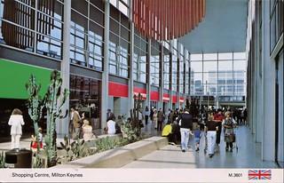 Shopping Centre, Milton Keynes, UK
