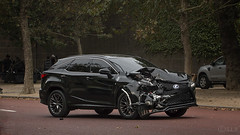 Transformers Reaction Force - Accident (S.L.R) Tags: transformers reaction force thelastknight filming lexus rx450h trf transformersreactionforce suv westminster city london michaelbay hollywood crashed mangled