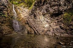 Waterfall in Kvaianska valley (tomas.lacika) Tags: slovakia mountains national parks tomas lacika photography nature rohace chocske vrchy tatras high kvacianska dolina waterfall park protected area dry season