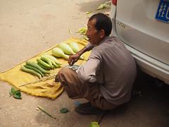 small trader (1) (anwoody) Tags: for flickr xingping china market streetlife