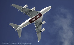A6-EEG EMIRATES A380 BHX-DXB (IAN GARDNER PHOTOGRAPHY) Tags: airbus aircraft doubledecker a380 coventry unitedarabemirates emiratesairlines bhx dubai