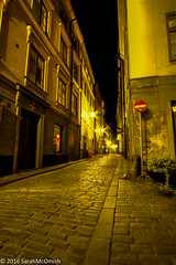 Wandering the streets of Gamla Stan #4 (sarahmcomish) Tags: old town stockholm hdr night street stone architecture perspective gamla stan alley cobbles
