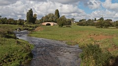 River Wreake at Hoby (Rons Images) Tags: archedbridge canonef1635mmf28liiusm canoneos7d clouds countryside cows derelict dissused grass hoby leicestshire river riverwreake rontoothill