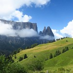 "Day 1: Compaccio to Rifugio Bolzano- the Sciliar Plateau <a style=""margin-left:10px; font-size:0.8em;"" href=""http://www.flickr.com/photos/14315427@N00/29665349962/"" target=""_blank"">@flickr</a>"