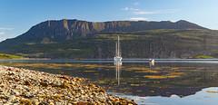 coigach reflections (marlesghillie) Tags: benmorecoigach ardmairpoint ullapool westerross scotland mountain loch sea reflections