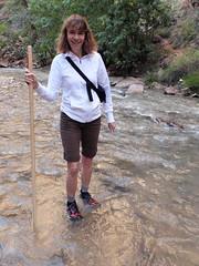 2016-09-p02-narrows-mjl-005 (Mike Legeros) Tags: ut utah zion zionnationalpark narrows river slotcanyon swiftwater wetfeet watchyourstep