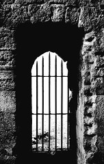 Gateway (Scott Allaway) Tags: blackandwhite portchester castle sony a77 a77ii alpha hampshire