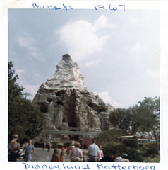 Matterhorn Bobsleds, March 1967 (Tom Simpson) Tags: disney disneyland vintage 1960s 1967 vintagedisney vintagedisneyland matterhornbobsleds matterhorn