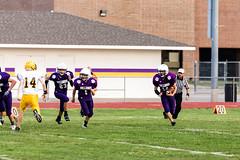 Running Around Back (Omni-Photography) Tags: douglass ks middle school football