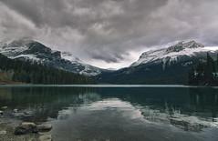 Emerald Lake (gwendolyn.allsop) Tags: emeral lake rockies canada yoho national park british columbia field green water reflection