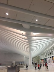 IMG_0501 (gundust) Tags: nyc ny usa september 2016 newyork newyorkcity manhattan architecture wtc worldtradecenter calatrava station path wtctransportationhub transportationhub void oculus wings sculptural verticality white steel glass lighting sun alignment 911 september11 memorial