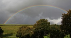 Dorset Rainbow 171016 (Richard Collier - Wildlife and Travel Photography) Tags: dorset landscape rainbow